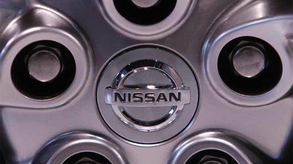 Llanta de un coche de la compañía Nissan