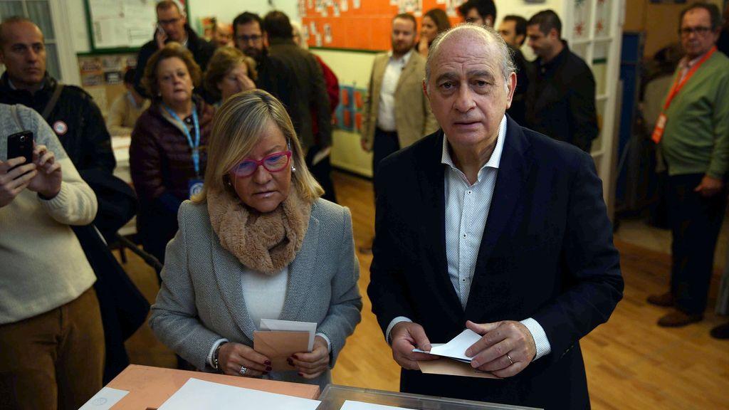 Fernandez Díaz vota