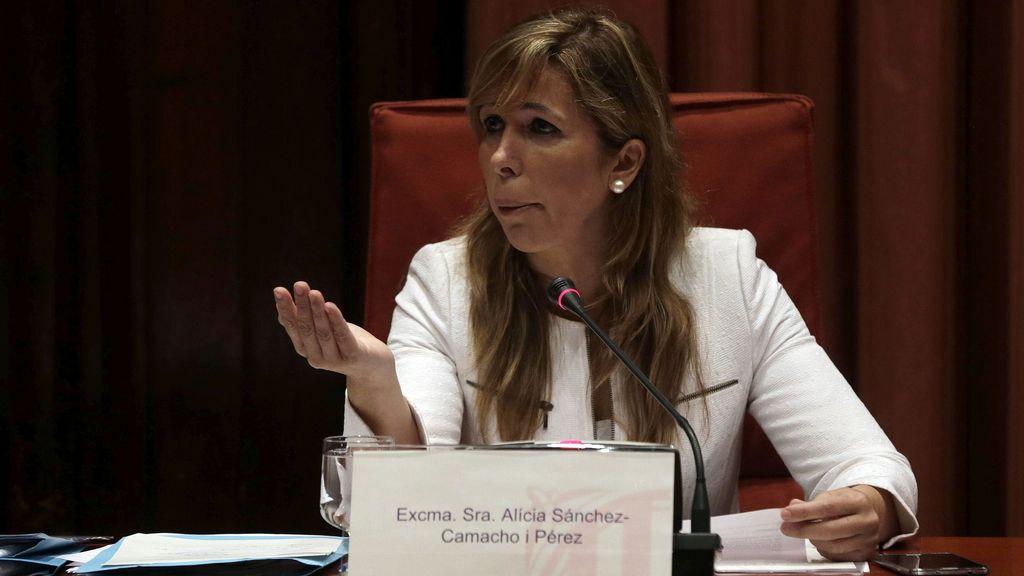 Alicia Sánchez-Camacho declara en la Comisión de Investigación del Parlament