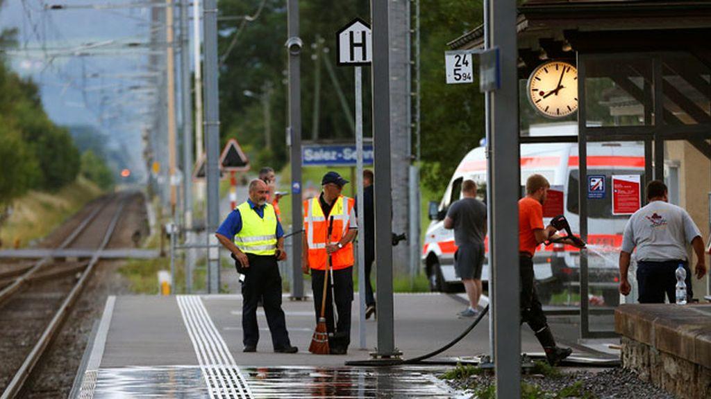 Muere uno de los heridos del ataque a un tren en Suiza