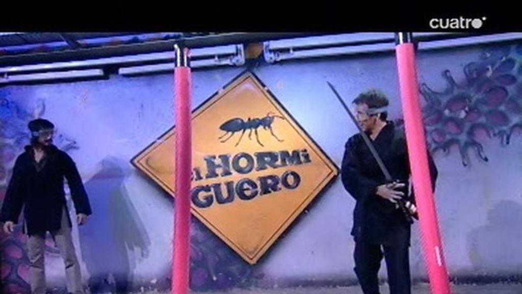 Pablo Motos y David Janer entrenan para ser ninjas