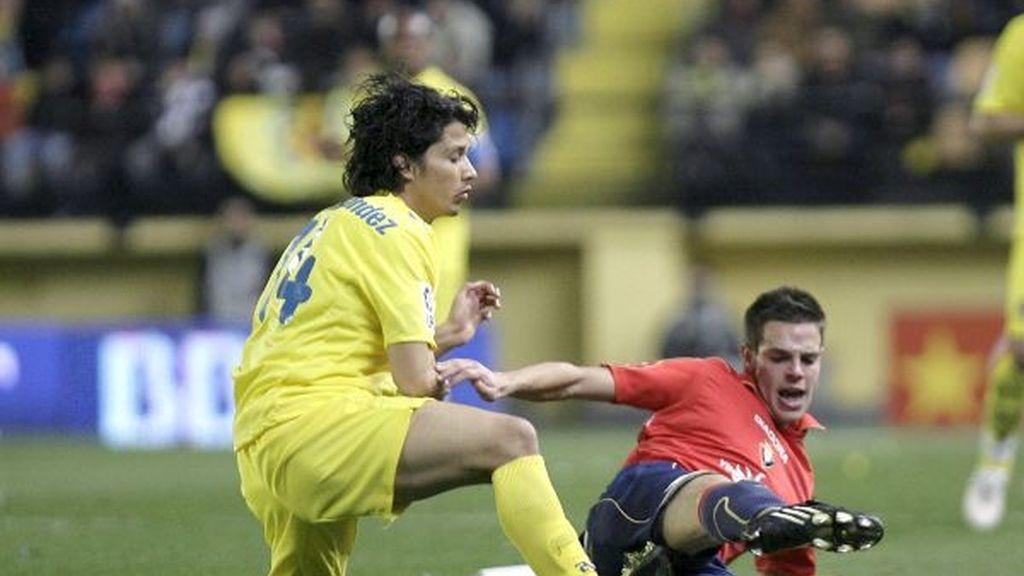 1-1. El Villarreal tropieza con un Osasuna combativo
