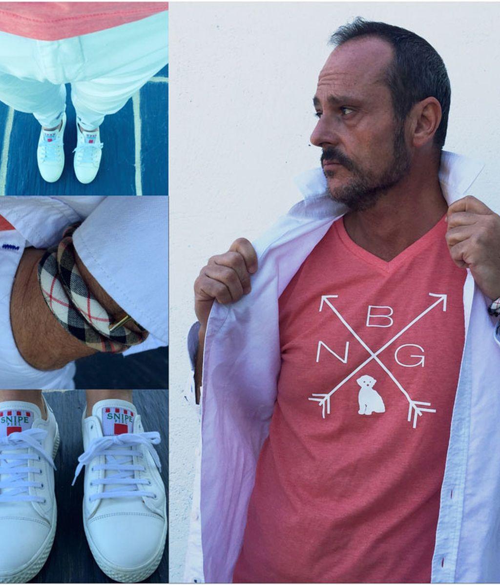 Coral&Blanco. Camisetas que importan, para looks de verano. (25/06/2015)
