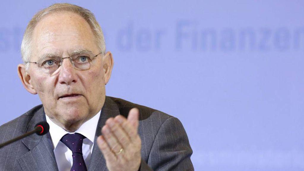 El ministro alemán Wolfgan Schäuble