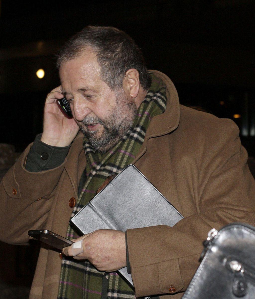 El alcalde de Lugo, José Clemente López Orozco, sale de los juzgados