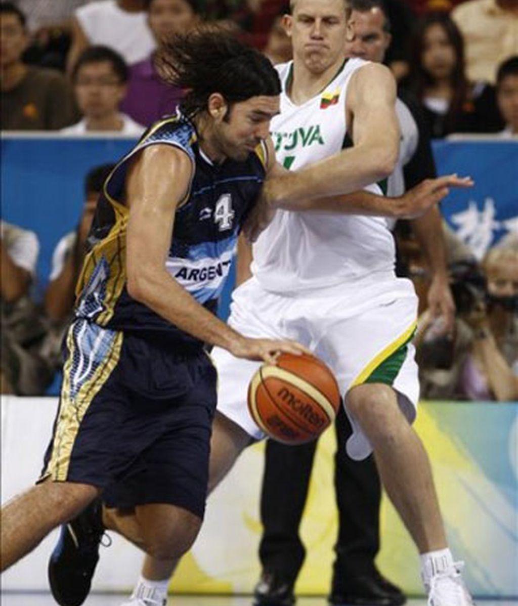 Argentina se hace con el bronce ante Lituania
