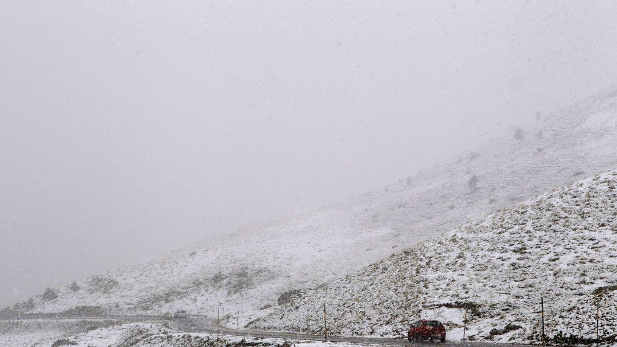 Primeras nieves en Navarra