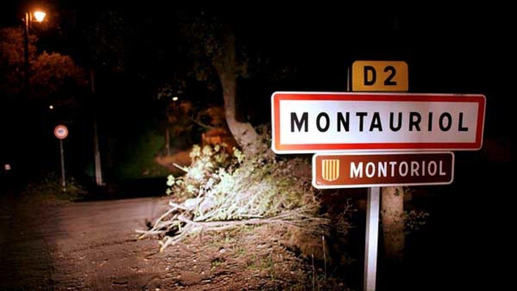 Montauriol, pueblo donde se ha detenido a Martitegi