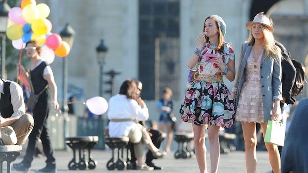 Los modelazos de las Gossip Girls en París