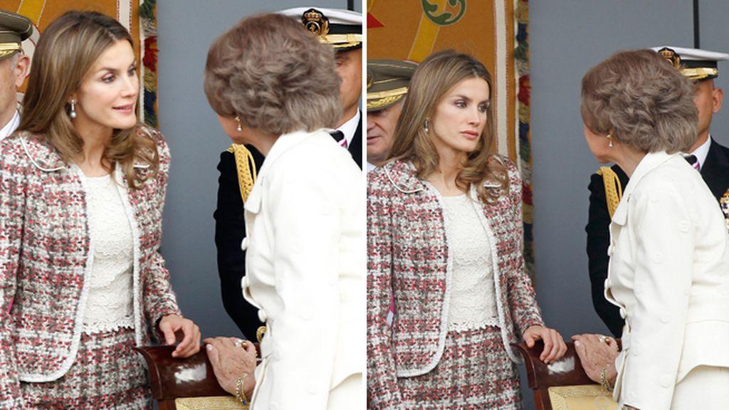Letizia y la Reina Sofía, como dos buenas amigas