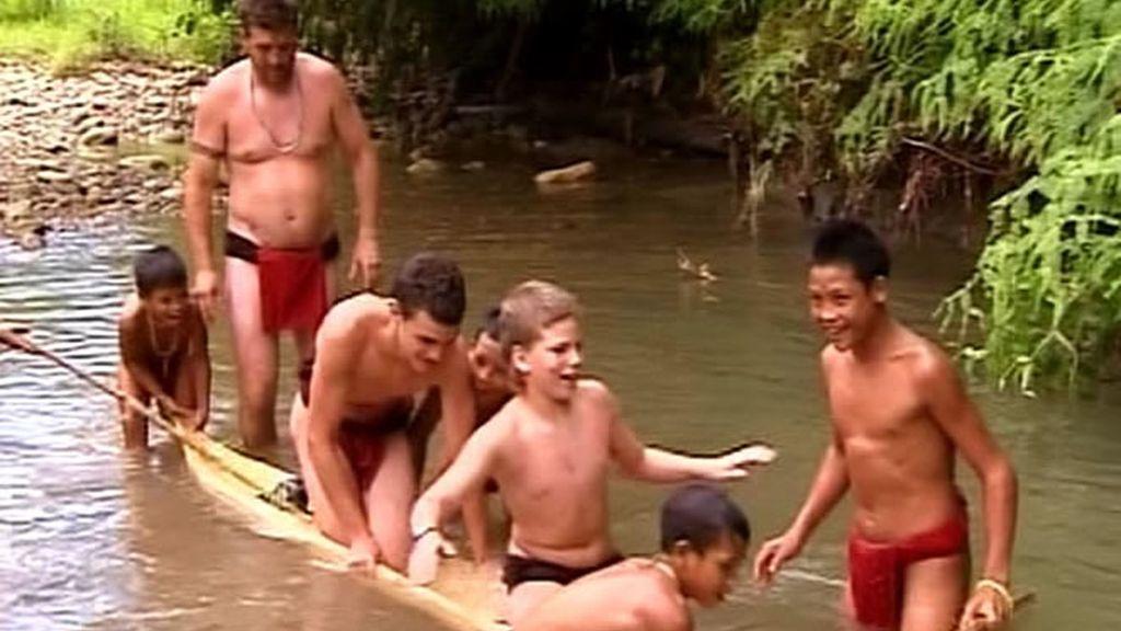 La familia Recuero-Oliva comienza sentirse cómoda con la tribu