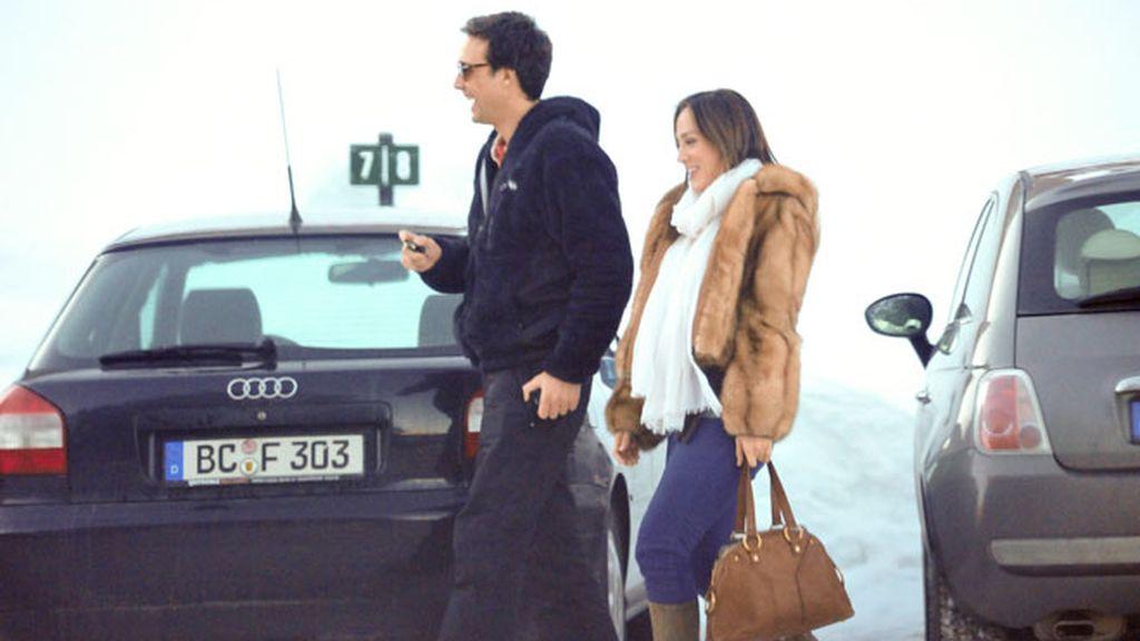 Tamara Falcó y su novio, juntos en plan doméstico