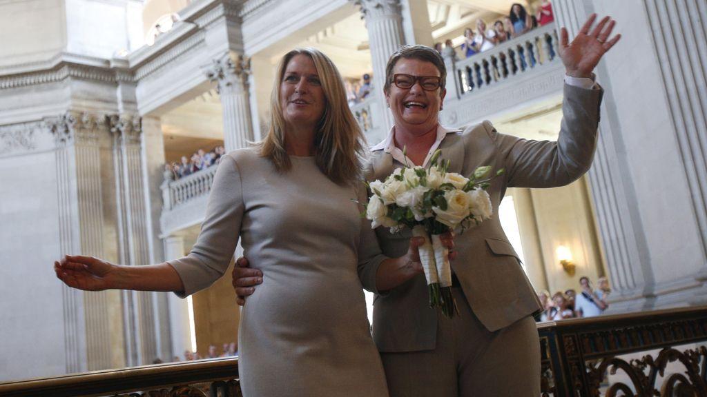 Se celebra la primera boda gay en California desde 2008