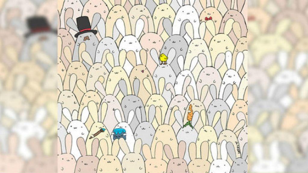 Celebran el día de Pascua con un reto visual