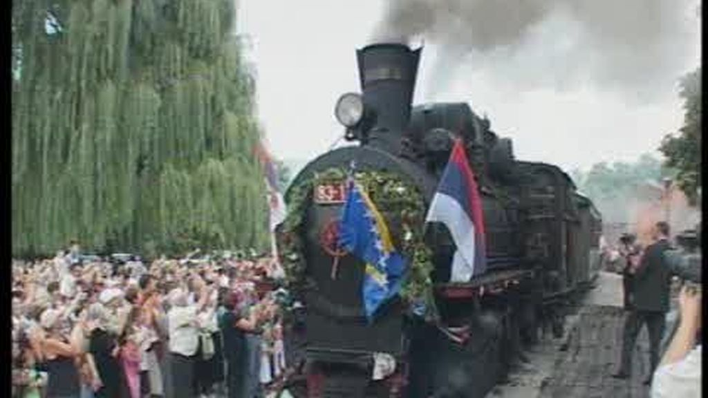 Bosnia y Servia conectadas por un tren