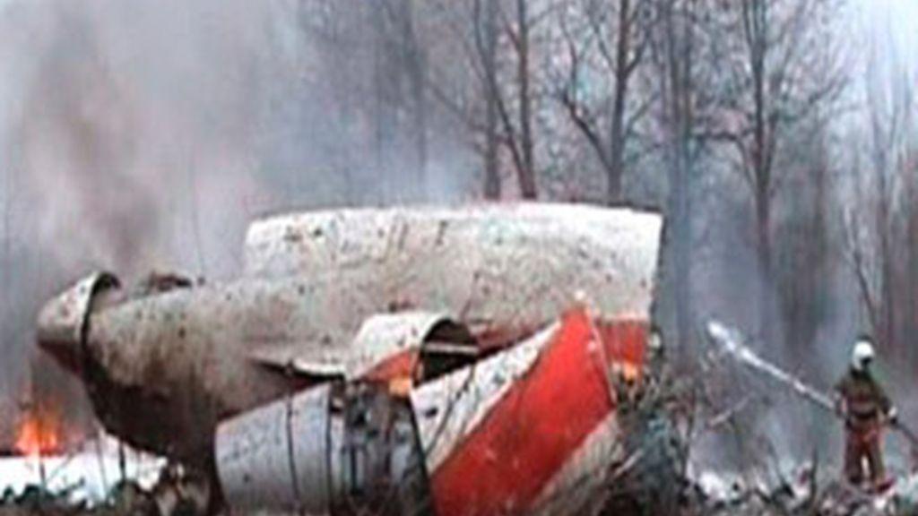 Accidente aéreo en Smolensk