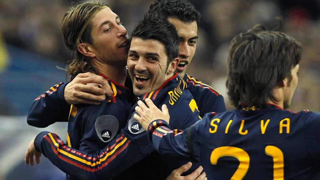 La selección española maravilla