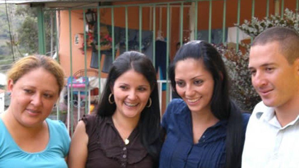 Vicky encontó a su familia en Venezuela