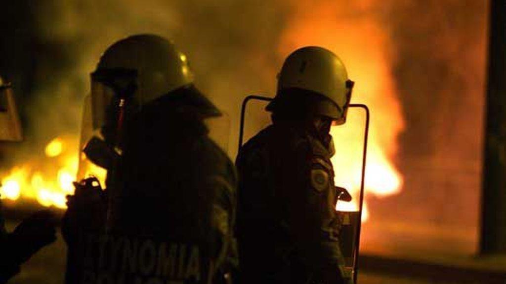Nuevos disturbios en Atenas