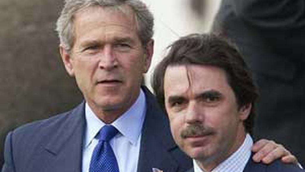 Aznar ha defendido a George W. Bush. Vídeo:ATLAS