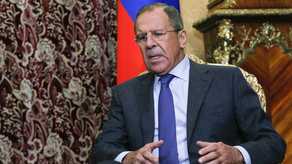 Sergie Lavrov, ministro de exterior de Rusia
