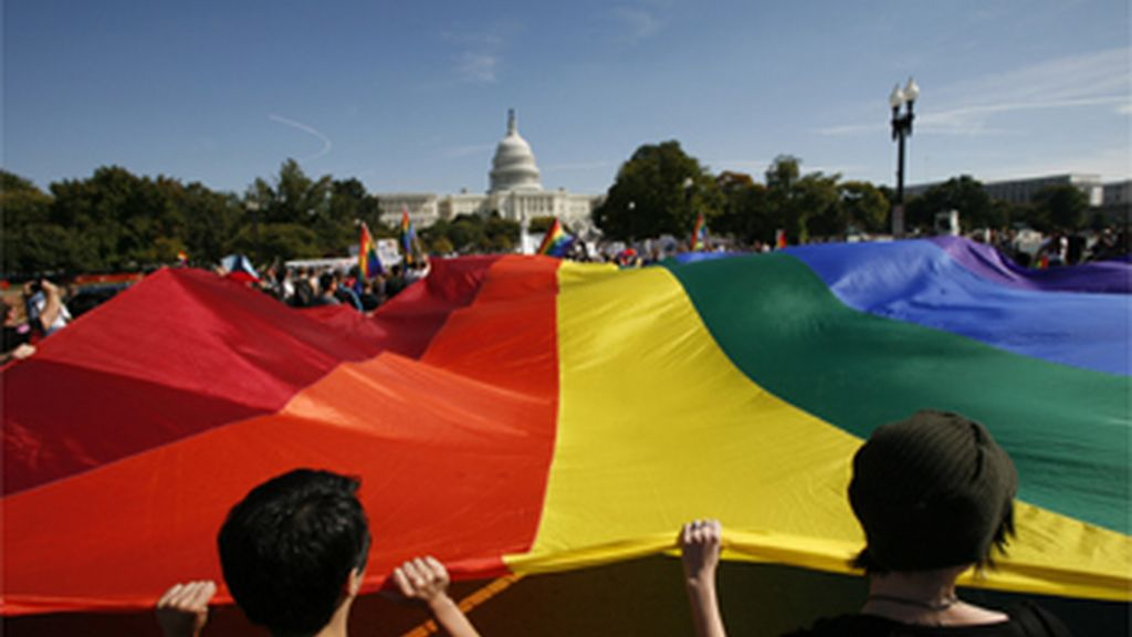 Marcha por la igualdad de los derechos para los homosexuales en Washington