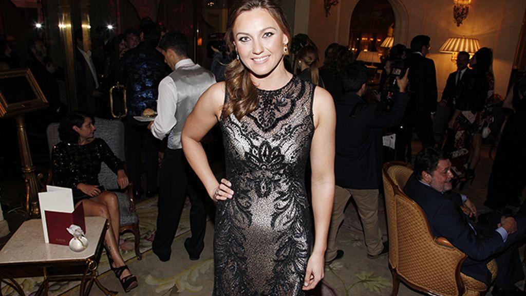Melani Costa recibió el premio a la mejor deportista