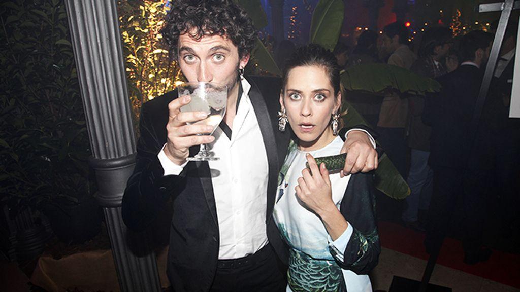 Paco León y María León, anfitriones de la navidad impepinable