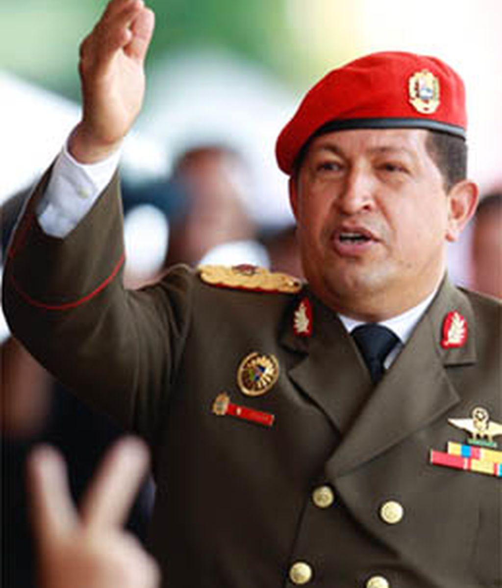 Chávez celebra el bicentenario de Venezuela