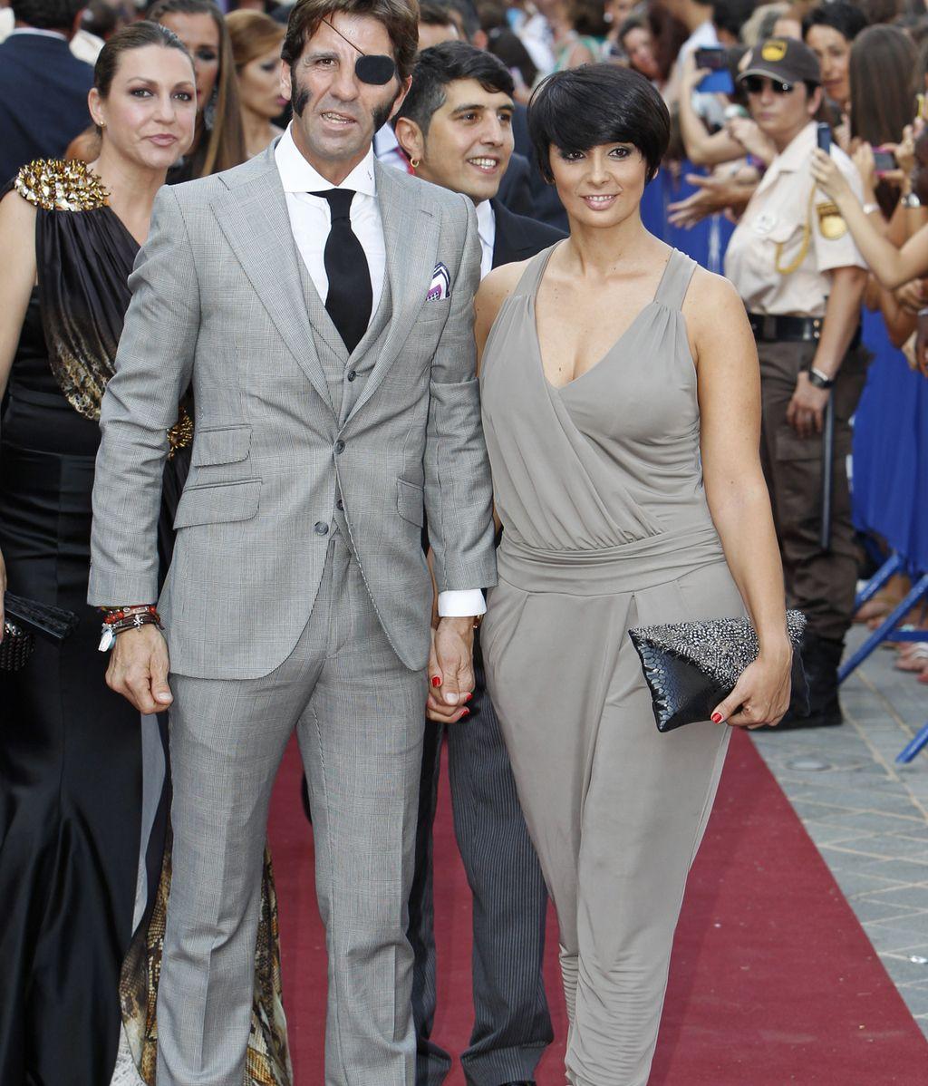Juan José Padilla y Lidia Cabello