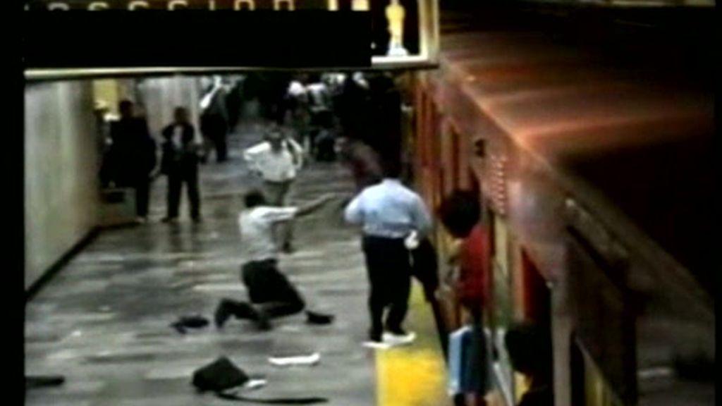 Suceso en el Metro de México D.F