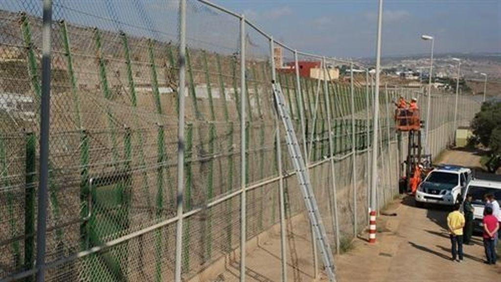 Melilla achaca la violencia de los inmigrantes al mayor control marroquí
