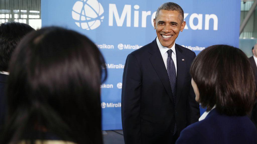 Barack Obama de viaje oficial en Japón