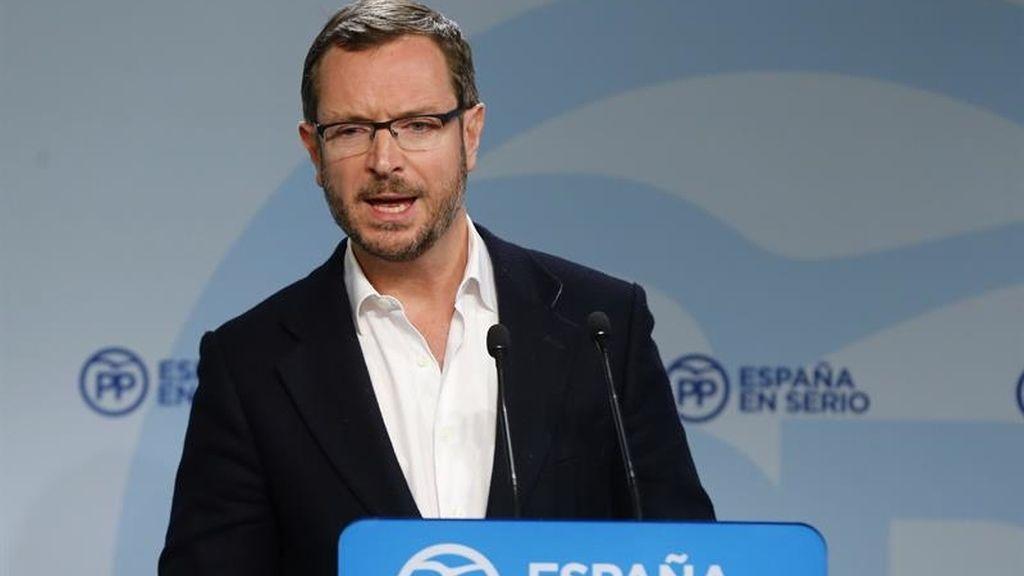 Javier Maroto, crítico con las declaraciones de Rita Barberá
