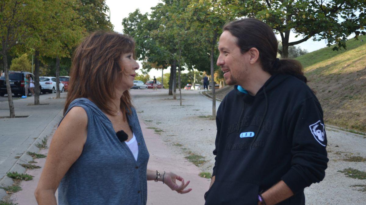 Ana Rosa pasa 24 horas junto a Pablo Iglesias