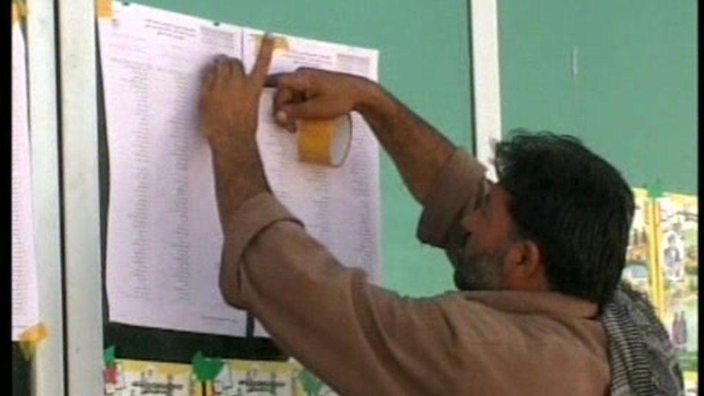 Ambos candidatos de las elecciones en Afganistán se atribuyen el triunfo