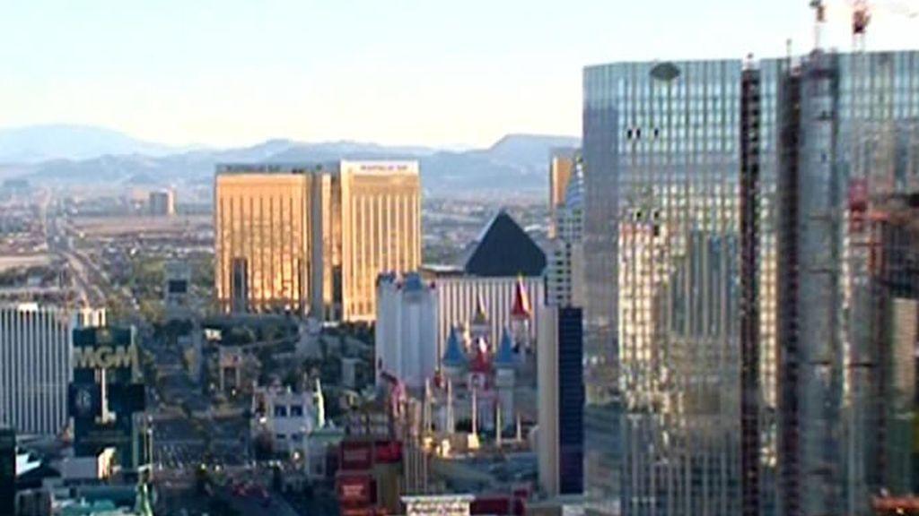 Los edificios altos y de espejo son característicos de Las Vegas