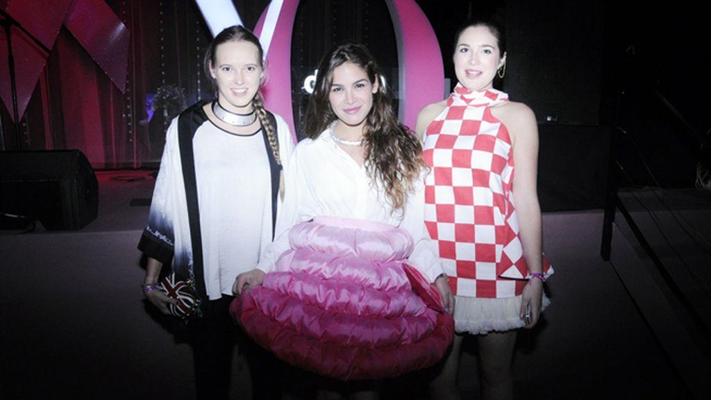 Isabella Rogge, Cósima Ramírez e Iona Seligman