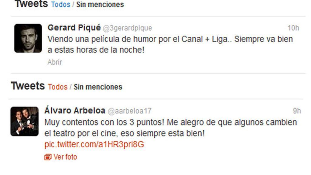 Piqué y Arbeloa se pican en Twitter