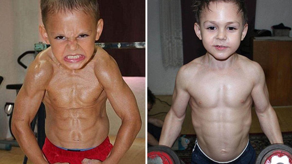 Giuliano y Claudiu: Los niños más fuertes del mundo