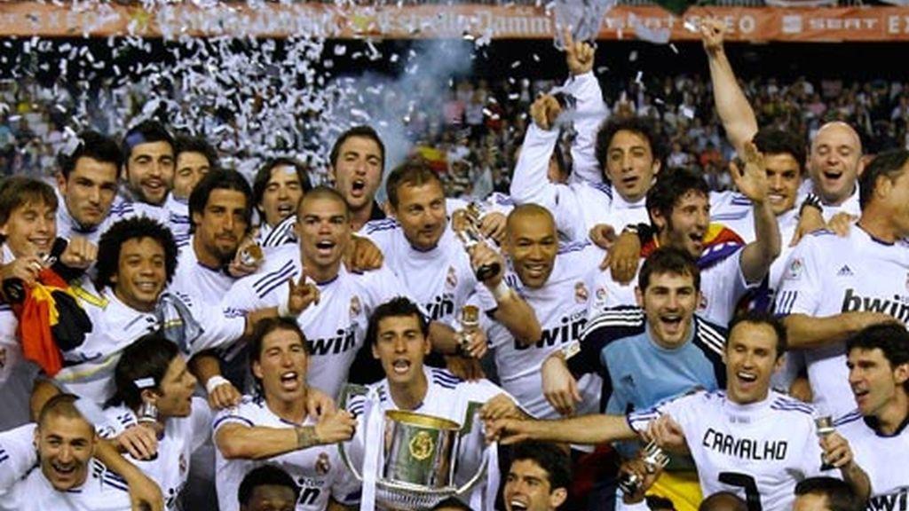 Real Madrid, campeón de Copa del Rey