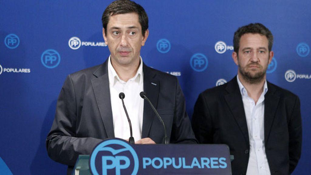 Portavoz adjunto del Grupo Parlamentario Popular, Antonio Gallego