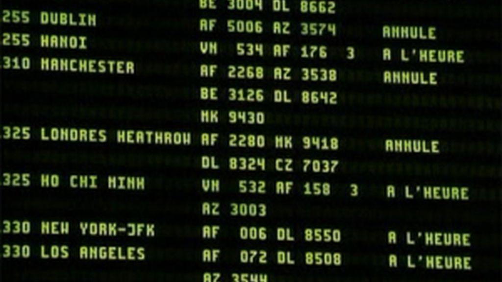 Cancelados 109 vuelos en España por el temporal