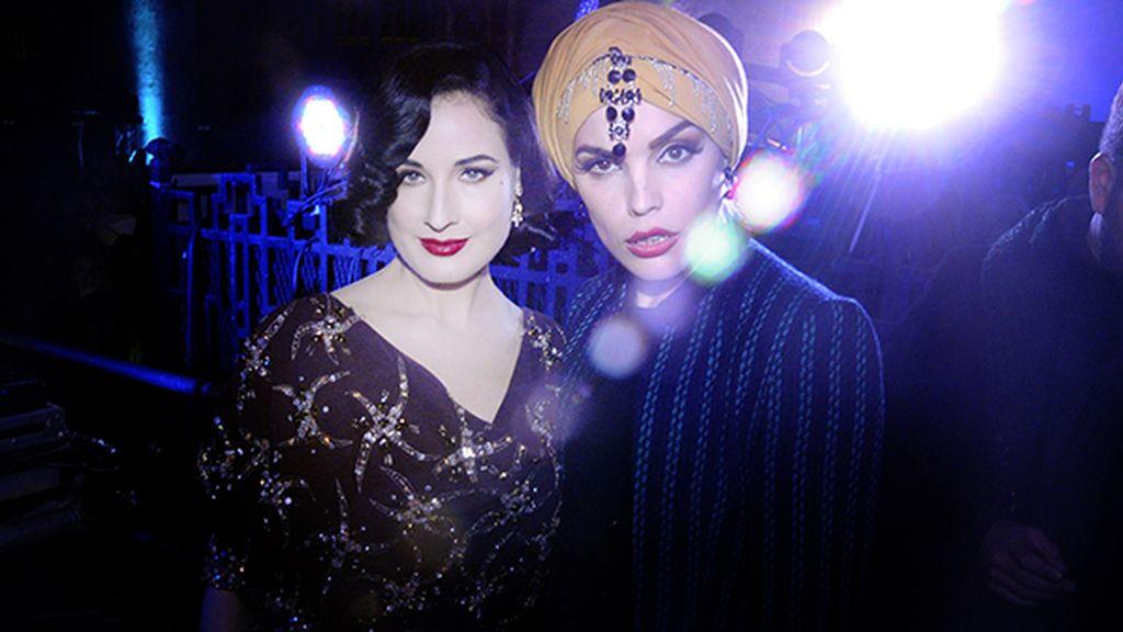 """Dita Von Teese junto a una reina del burlesque """"made in Spain"""", Vinila Von Bismark"""