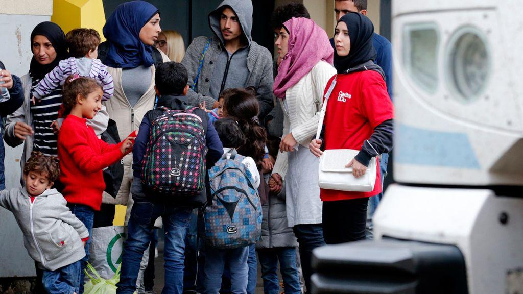 Refugiados en Viena