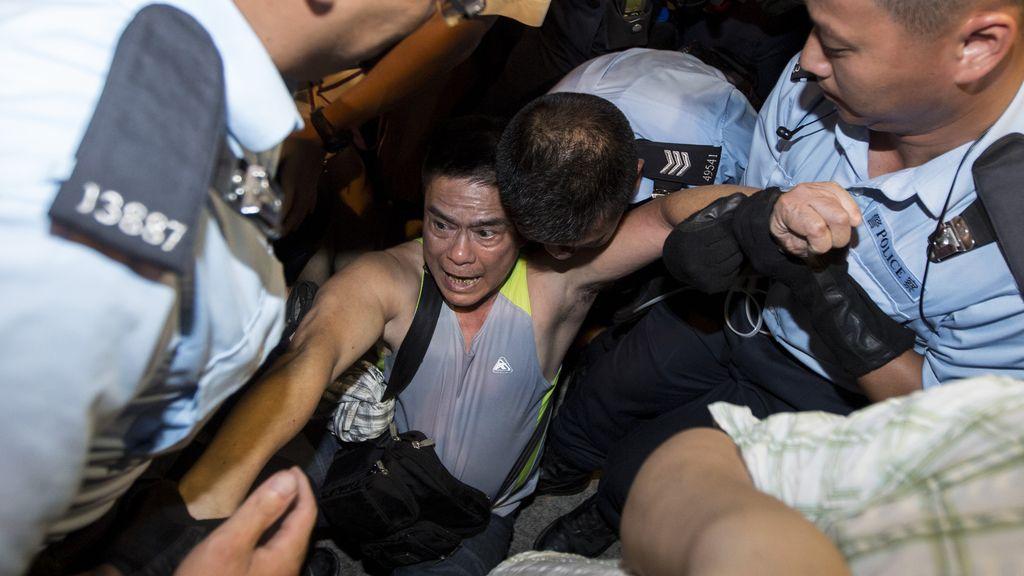 Más de 500 detenidos en Hong Kong durante las protestas para reclamar más democracia