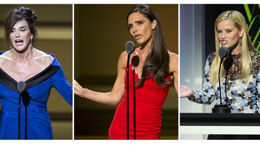 Victoria Beckham, Reese Witherspoon y Caitlyn Jenner, mujeres del año