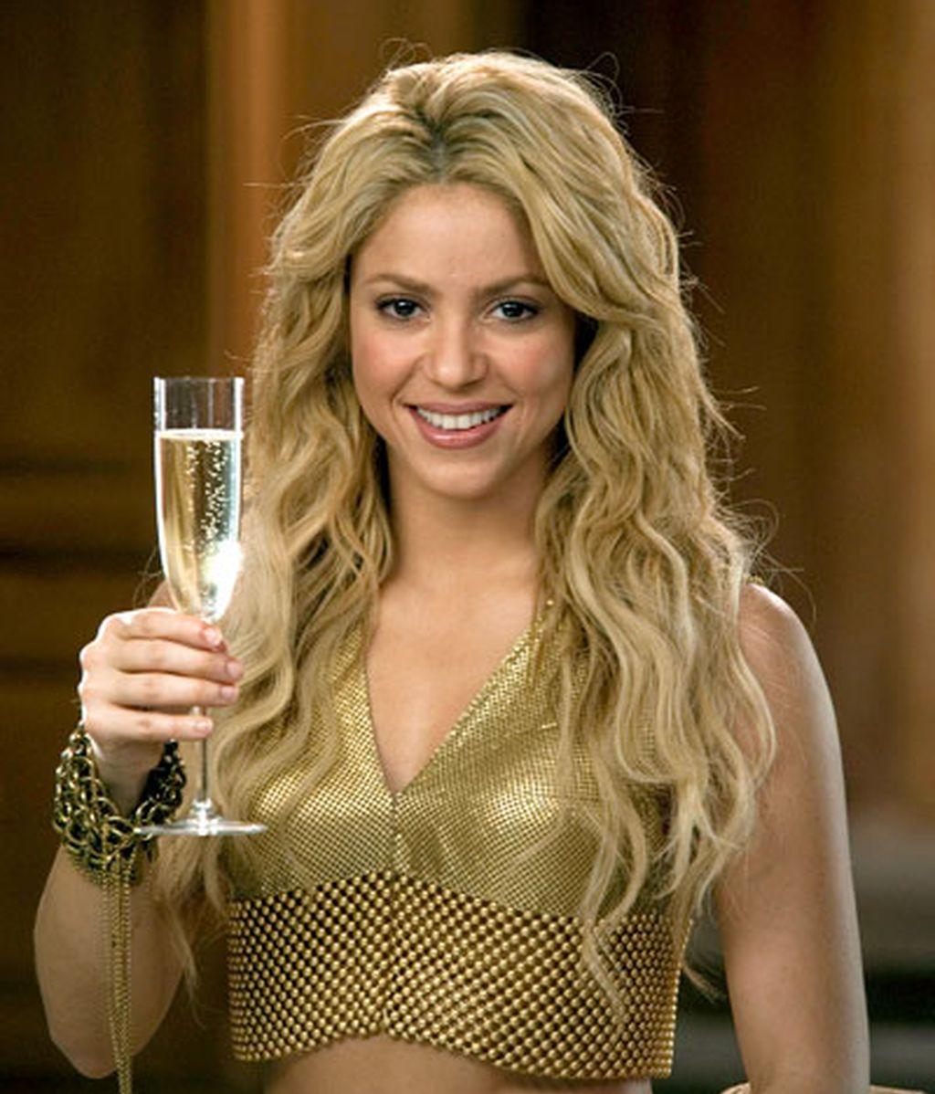 Shakira ya es una burbuja Freixenet