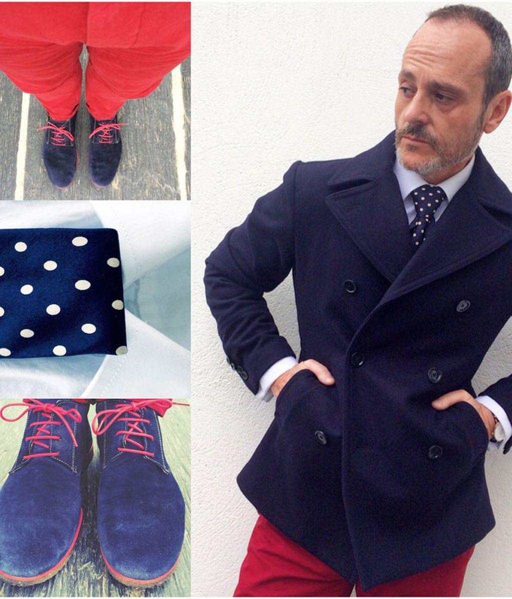 Marino&Rojo.  Chaquetones marineros cortos para días fríos de primavera (15/04/2015)