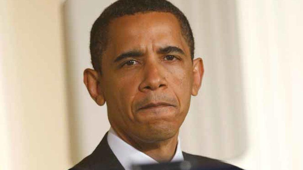 Obama durante un discurso